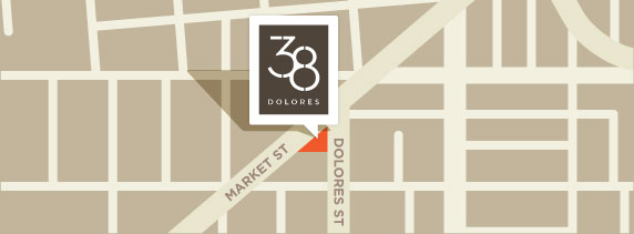 Google Map to 38 Dolores